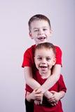 Μικροί αδελφοί Λ Στοκ φωτογραφία με δικαίωμα ελεύθερης χρήσης