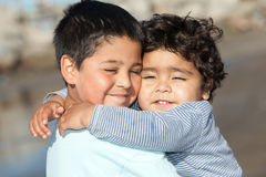 Μικροί αδελφοί Στοκ Φωτογραφίες