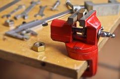 Μικροί μηχανικοί συμπλέκτες στοκ εικόνα με δικαίωμα ελεύθερης χρήσης