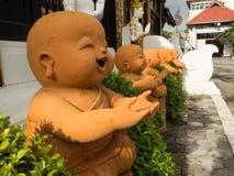 Μικροί μοναχοί στοκ εικόνα