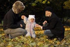 μικροί πρόγονοι κοριτσιών Στοκ Εικόνες