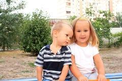 Μικροί φίλοι Στοκ Φωτογραφίες