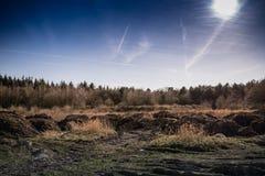 Μικροί λόφοι Στοκ φωτογραφία με δικαίωμα ελεύθερης χρήσης