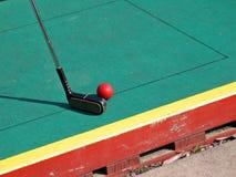 μικρογραφία γκολφ στοκ εικόνες