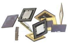 μικροεπεξεργαστές υπο& στοκ εικόνες
