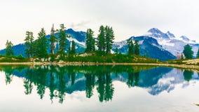 Μικροκαμωμένη λίμνη στοκ φωτογραφία