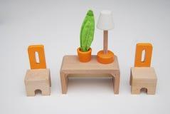 Μικροσκοπικά έπιπλα Στοκ φωτογραφία με δικαίωμα ελεύθερης χρήσης