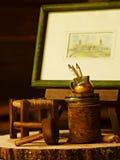 μικροσκοπικά αντικείμεν& Στοκ εικόνες με δικαίωμα ελεύθερης χρήσης