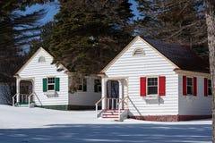 Μικροσκοπικά εξοχικά σπίτια Στοκ Φωτογραφίες