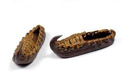 μικροσκοπικά παπούτσια στοκ φωτογραφία