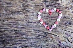 μικροσκοπικές καρδιές Στοκ Εικόνα