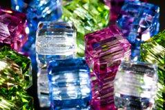 Μικροσκοπικές χάντρες γυαλιού Στοκ εικόνα με δικαίωμα ελεύθερης χρήσης