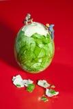 μικροσκοπικοί εργάτες αποφλοίωσης αυγών Στοκ Εικόνες