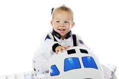 Μικροσκοπικός αμερικανικός αστροναύτης Στοκ Φωτογραφία