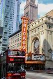 Μικροσκοπικός πυροβολισμός του Σικάγου Στοκ Φωτογραφίες