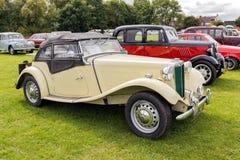 Μικροσκοπικό αθλητικό αυτοκίνητο MG TD Στοκ Εικόνες
