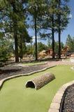 Μικροσκοπικό γήπεδο του γκολφ υπαίθρια στοκ φωτογραφία με δικαίωμα ελεύθερης χρήσης