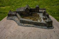 Μικροσκοπικό κάστρο Στοκ εικόνα με δικαίωμα ελεύθερης χρήσης