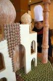 Μικροσκοπικό μουσουλμανικό τέμενος Στοκ εικόνα με δικαίωμα ελεύθερης χρήσης