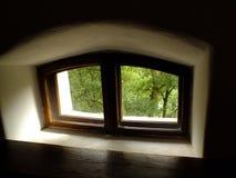 Μικροσκοπικό παράθυρο Στοκ Εικόνες