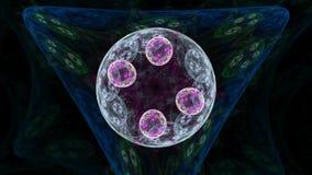 μικροσκόπιο βακτηριδίων κάτω φιλμ μικρού μήκους