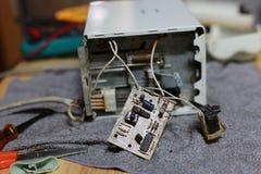 Μικροϋπολογιστής ηλεκτρονικός Στοκ φωτογραφίες με δικαίωμα ελεύθερης χρήσης