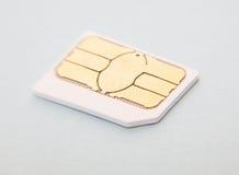 Μικροϋπολογιστής SIM Στοκ φωτογραφίες με δικαίωμα ελεύθερης χρήσης