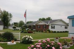 μικρού χωριού ΗΠΑ Στοκ Φωτογραφία