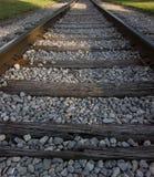 Μικρού χωριού διαδρομές σιδηροδρόμου Στοκ Εικόνα