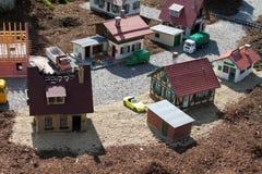 μικρού χωριού Στοκ Εικόνα