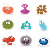 μικρόβια ΙΙ Στοκ Εικόνα