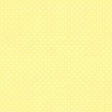 μικρός άσπρος κίτρινος Πόλκα κρητιδογραφιών σημείων Στοκ Φωτογραφίες