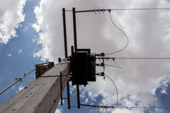 Μικρός ηλεκτρικός πύργος Στοκ φωτογραφία με δικαίωμα ελεύθερης χρήσης