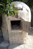 Μικρός κλίβανος αγγειοπλαστικής στοκ φωτογραφίες με δικαίωμα ελεύθερης χρήσης