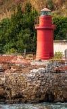 Μικρός κόκκινος φάρος Στοκ Εικόνα