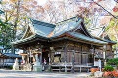 Μικρός ναός σε Fujinomiya Στοκ Φωτογραφίες