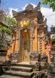 Μικρός ναός στο Μπαλί στοκ φωτογραφία