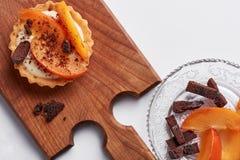 Μικρός ξινός με persimmon Στοκ φωτογραφία με δικαίωμα ελεύθερης χρήσης