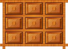μικρός ξύλινος αντικειμέν&ome Στοκ Φωτογραφίες