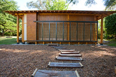 μικρός ξύλινος σπιτιών Στοκ Εικόνες