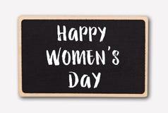Μικρός πίνακας κιμωλίας για το βαλεντίνο ` s ή την ημέρα γυναικών μητέρων ρόδινα τριαντάφυλλα ανασ&ka Στοκ εικόνες με δικαίωμα ελεύθερης χρήσης