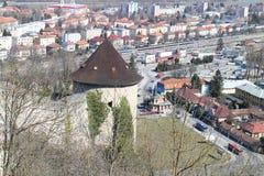Μικρός πύργος του κάστρου Ãn TreÄ  Στοκ φωτογραφίες με δικαίωμα ελεύθερης χρήσης