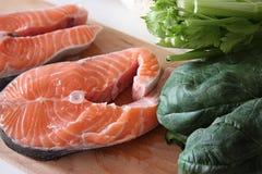 Μικρός σολομός ψαριών Στοκ Φωτογραφία