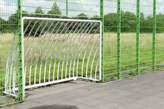 Μικρός στόχος ποδοσφαίρου στοκ φωτογραφίες με δικαίωμα ελεύθερης χρήσης