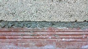 μικρός τοίχος σύστασης φυτών ανασκόπησης Στοκ Εικόνα