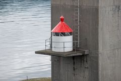 Μικρός φάρος Στοκ Φωτογραφίες
