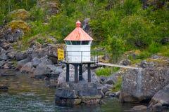 Μικρός φάρος Στοκ εικόνα με δικαίωμα ελεύθερης χρήσης