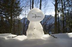 Μικρός χιονάνθρωπος Στοκ Φωτογραφίες