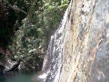 Μικρός όμορφος καταρράκτης Salakot στη ζούγκλα απόθεμα βίντεο