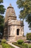Μικρότερος ινδός ναός επί του ανατολικού τόπου σε Khajuraho της Ινδίας. Στοκ φωτογραφία με δικαίωμα ελεύθερης χρήσης